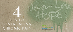 Confronting my Chronic Pain